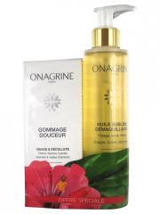 Onagrine Gommage Douceur 75 ml + Huile Sublime Démaquillante 200 ml Offre Spéciale - Lot 2 produits