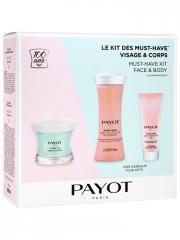 Payot Le Kit des Must-Have Visage & Corps - Coffret 3 soins