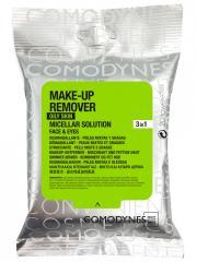 Comodynes Démaquillant 3en1 Peaux Mixtes & Grasses 20 Lingettes - Paquet 20 lingettes