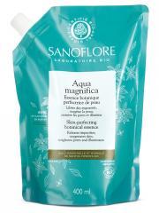 Sanoflore Aqua Magnifica Eau de Soin Botanique Anti-Imperfections Bio Recharge 400 ml - Sachet 400 ml