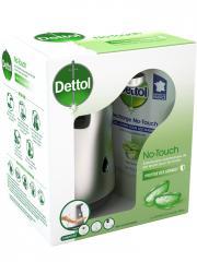 Dettol No-Touch Kit Aloe Vera 250 ml - Kit 1 distributeur + 1 flacon