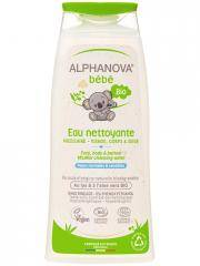 Alphanova Bébé Eau Nettoyante Bio 200 ml - Flacon 200 ml
