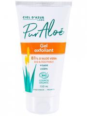 Pur Aloé Gel Exfoliant à l'Aloe Vera 81% Bio 150 ml - Tube 150 ml
