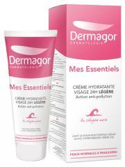 Dermagor Mes Essentiels Crème Hydratante Visage 24H Légère 40 ml - Tube 40 ml