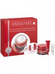 ANNAYAKE Ultratime Crème Redensifiante Anti-Rides 50 ml + Rituel Anti-Âge Offert - Coffret 3 produits