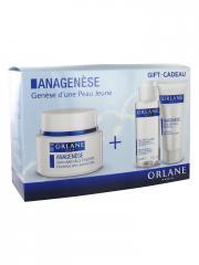 Orlane Anagenèse Soin Anti-Âge Essentiel 50 ml + Rituel Voyage Offert - Coffret 3 produits