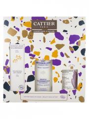 Cattier Coffret Beauté Visage Bio 2021 - Coffret 3 produits