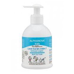 Alphanova Kids Lave-Toi les Mains Gel Lavant Surgras 300 ml - Flacon-Pompe 300 ml