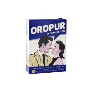 Oropur 50 Capsules - Boîte 50 capsules - Publicité