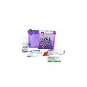 GUM Kit Voyage Orthodontie - Trousse 4 produits - Publicité