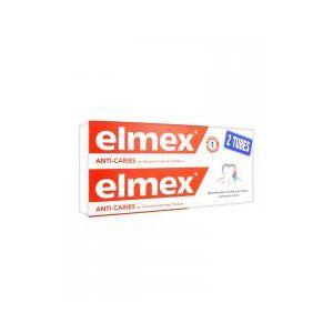 Elmex Dentifrice Protection Caries Lot de 2 x 75 ml - Lot 2 x 75 ml