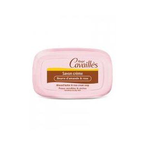 Rogé Cavaillès Savon Crème Beurre d'Amande et Rose 115 g - Pain 115 g - Publicité