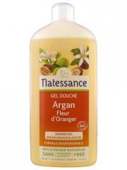 Natessance Gel Douche Argan Fleurs d'Oranger 500 ml - Flacon 500 ml