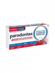 Parodontax Dentifrice au Fluor Fraîcheur Intense Complète Protection Lot de 2 x 75 ml - Boîte 2 x 75 ml