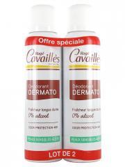 Rogé Cavaillès Déodorant Dermato Anti-Odeurs 48H Spray Lot de 2 x 150 ml - Lot 2 x 150 ml