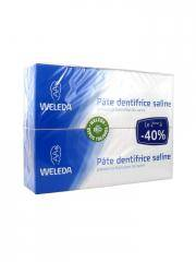 Weleda Pâte Dentifrice Saline Lot de 2 x 75 ml - Lot 2 x 75 ml