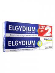 Elgydium Dentifrice Blancheur Citron Lot de 2 x 75 ml - Lot 2 x 75 ml