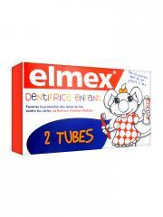 Elmex Dentifrice Enfant Lot de 2 x 50 ml - Lot 2 dentifrices