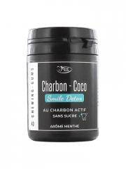 Denti Smile Charbon Coco Sans Sucre Menthe 40 Chewing-Gums - Boîte 40 chewing-gums