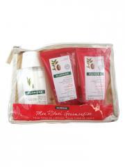 Klorane Trousse Mon Rituel Gourmandise Tous Types de Cheveux et Peaux - Trousse 3 produits