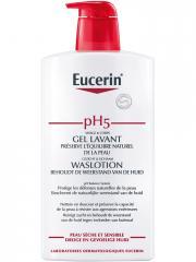 Eucerin pH5 Protection Gel Lavant 1 L - Flacon-Pompe 1000 ml