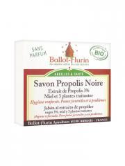 Ballot-Flurin Savon Propolis Noire Bio 100 g - Boîte 100 g