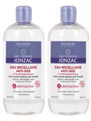 Eau de Jonzac Sublimactive Eau Micellaire Anti-Âge Lot de 2 x 500 ml - Lot 2 x 500 ml