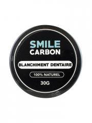 smile carbon blanchiment dentaire 30 g - boîte 30 g