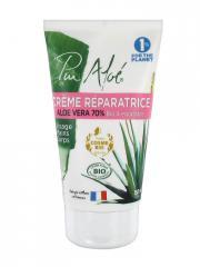 Pur Aloé Crème Réparatrice à l'Aloe Vera 70% Bio 150 ml - Tube 150 ml