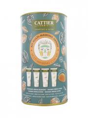 Cattier Kit Multi-Masking Argile - Boîte 4 tubes de 30 ml
