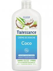 Natessance Crème de Douche Coco Bio 500 ml - Flacon 500 ml