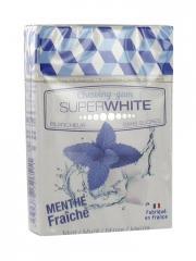 Superwhite Chewing-Gum sans Sucres Menthe 23 g - Boîte 23 g