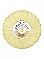 Roger & Gallet Savon Frais Boîte Cristal 100 g - Pain 100 g