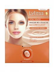 Lytess Cosmétotextile Soin Visage Masque Bio Cellulose Nourrissant - Sachet 1 masque de 8 g