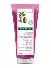 Klorane Nutrition Gel Douche au Beurre de Cupuaçu Bio Feuille de Figuier 200 ml - Tube 200 ml