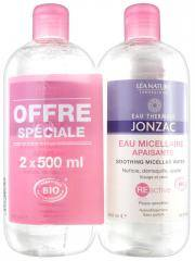 Eau de Jonzac Reactive Eau Micellaire Apaisante Lot de 2 x 500 ml - Lot 2 x 500 ml