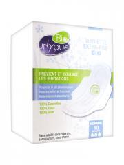 Unyque Bio 10 Serviettes Extra-Fines Normal - Boîte 10 serviettes