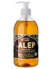 MKL Green Nature L'Alep Savon Doux Bio 500 ml - Flacon-Pompe 500 ml