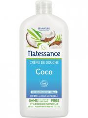 Natessance Crème de Douche Coco Bio 250 ml - Flacon 250 ml