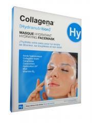 Collagena Hydranutrition Masque Hydratant Peaux Sèches à Très Sèches 5 Masques - Boîte 5 masques