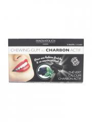 Innovatouch Chewing-Gum au Charbon Actif Sans Sucres 12 Dragées - Etui 12 dragées