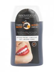 Innovatouch Dentifrice + Bain de Bouche 2en1 au Charbon Actif 100 ml - Flacon 100 ml