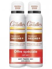 Rogé Cavaillès Déo-Soin Anti-Traces Spray Lot de 2 x 150 ml - Lot 2 x 150 ml