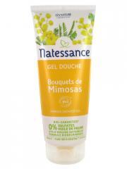 Natessance Gel Douche Bouquets de Mimosas Bio 200 ml - Tube 200 ml