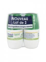 Etiaxil Déodorant Végétal 24H Roll-On Lot de 2 x 50 ml - Lot 2 x 50 ml
