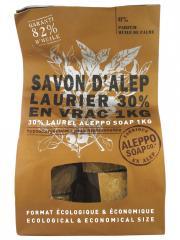 Tadé Savon d'Alep Laurier 30% en Vrac 1 kg - Sac 1 kg