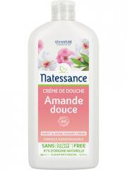 Natessance Crème de Douche Amande Douce 250 ml - Flacon 250 ml