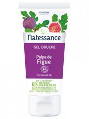 Natessance Gel Douche Pulpe de Figue Bio 200 ml - Tube 200 ml