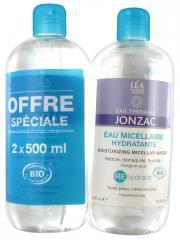 Eau de Jonzac Rehydrate Eau Micellaire Hydratante Lot de 2 x 500 ml - Lot 2 x 500 ml
