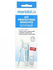 Meridol Kit Protection Gencives - Boîte 3 produits